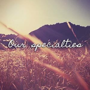 MY SPECIALTIES