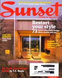 Sunset Magazine  -October 2009