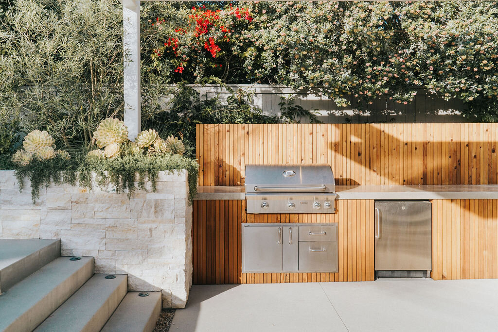 Outdoor Kitchens What Is The Hype Of Cooking Outside Falling