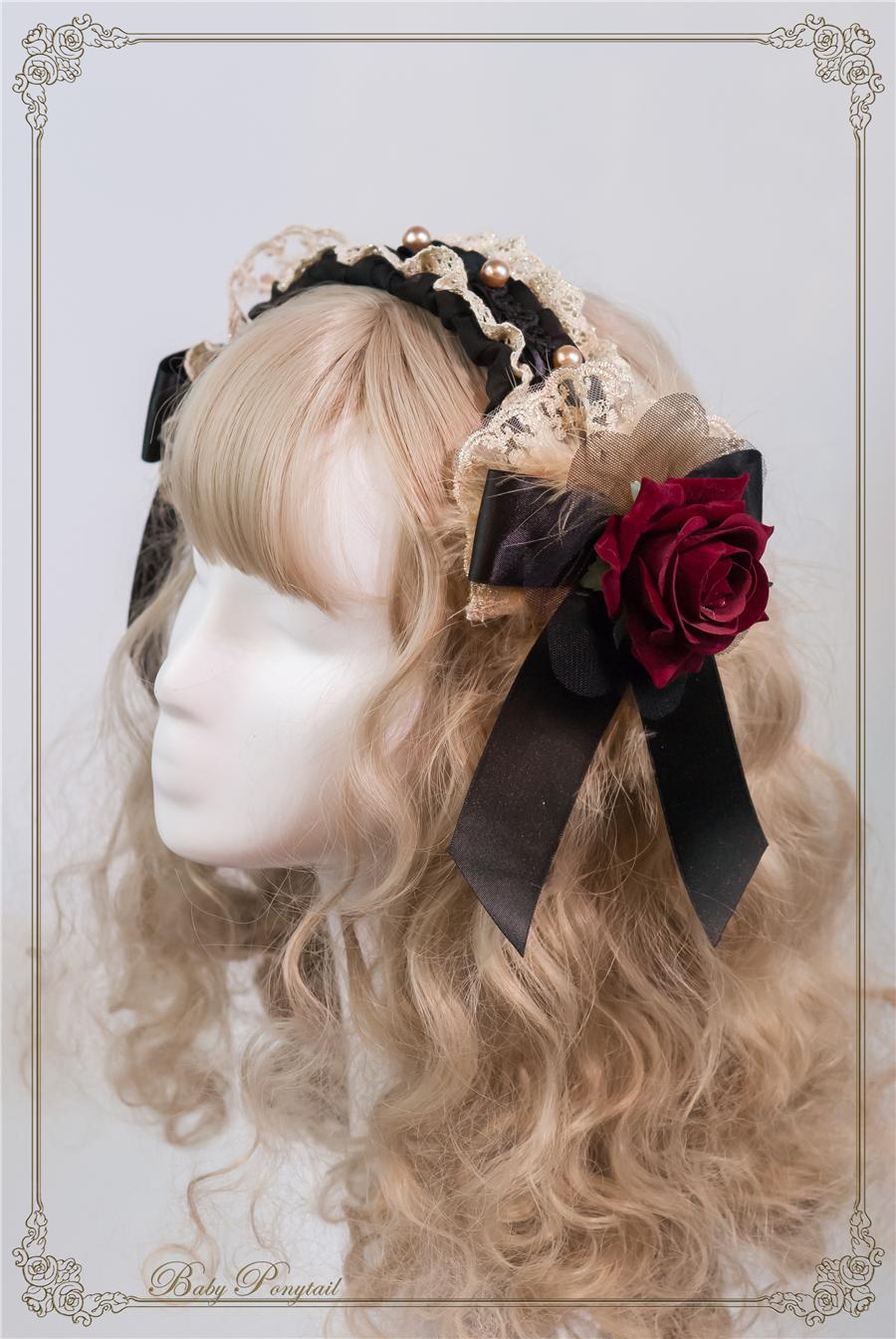 Baby Ponytail_Stock photo_Circus Princess_Rose Head Dress Black_01.jpg