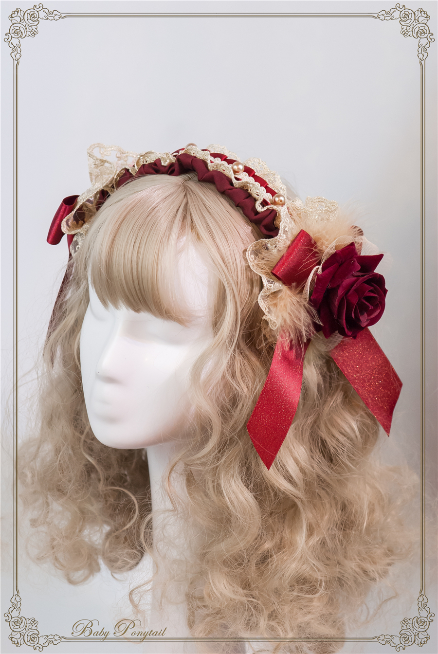 Baby Ponytail_Stock photo_Circus Princess_Rose Head Dress Red_02.jpg