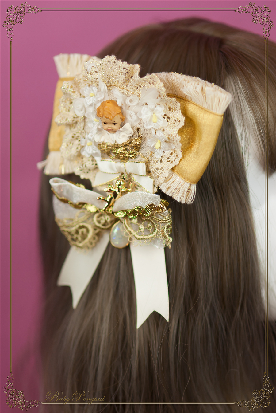 Baby Ponytail_Stock photo_Circus Princess_Angel Brooch_Yellow_ 01.jpg