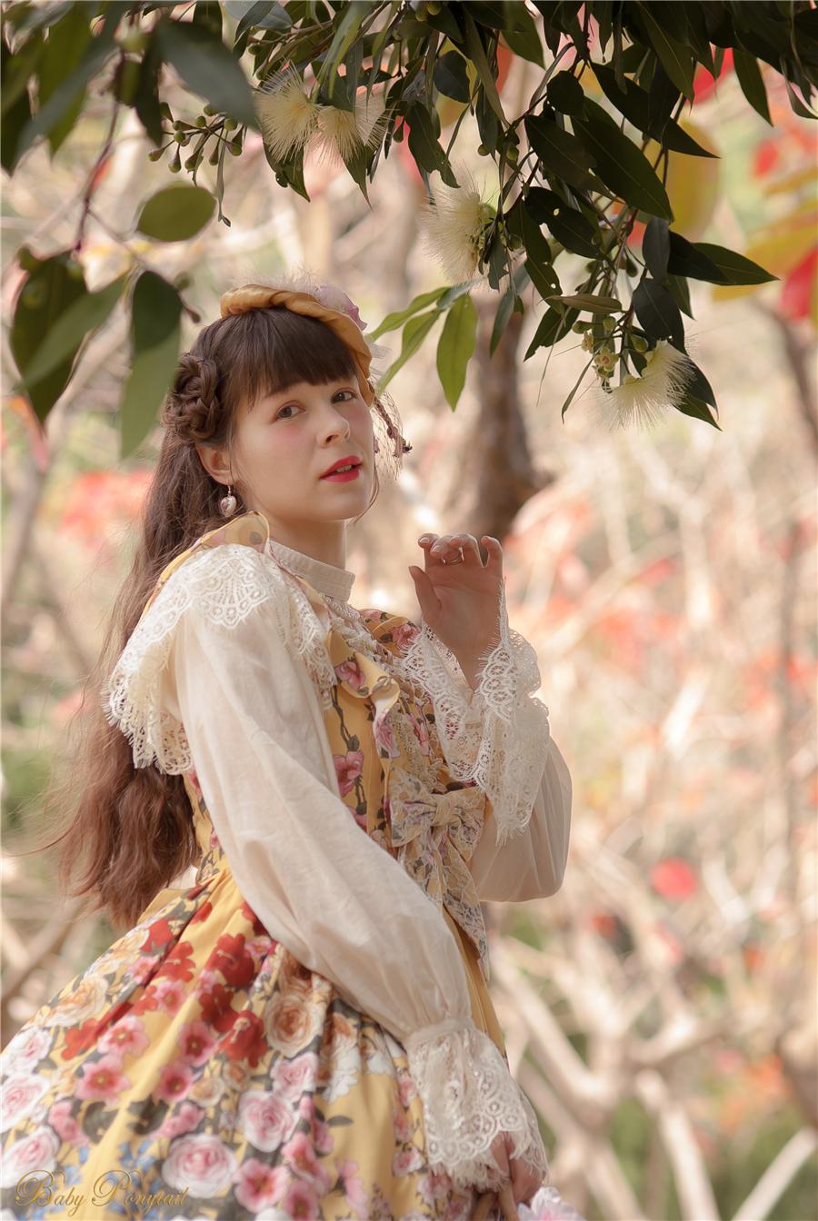 Baby Ponytail_Model Photo_Polly's Garden of Dreams_JSK Yellow_Claudia_1.jpg