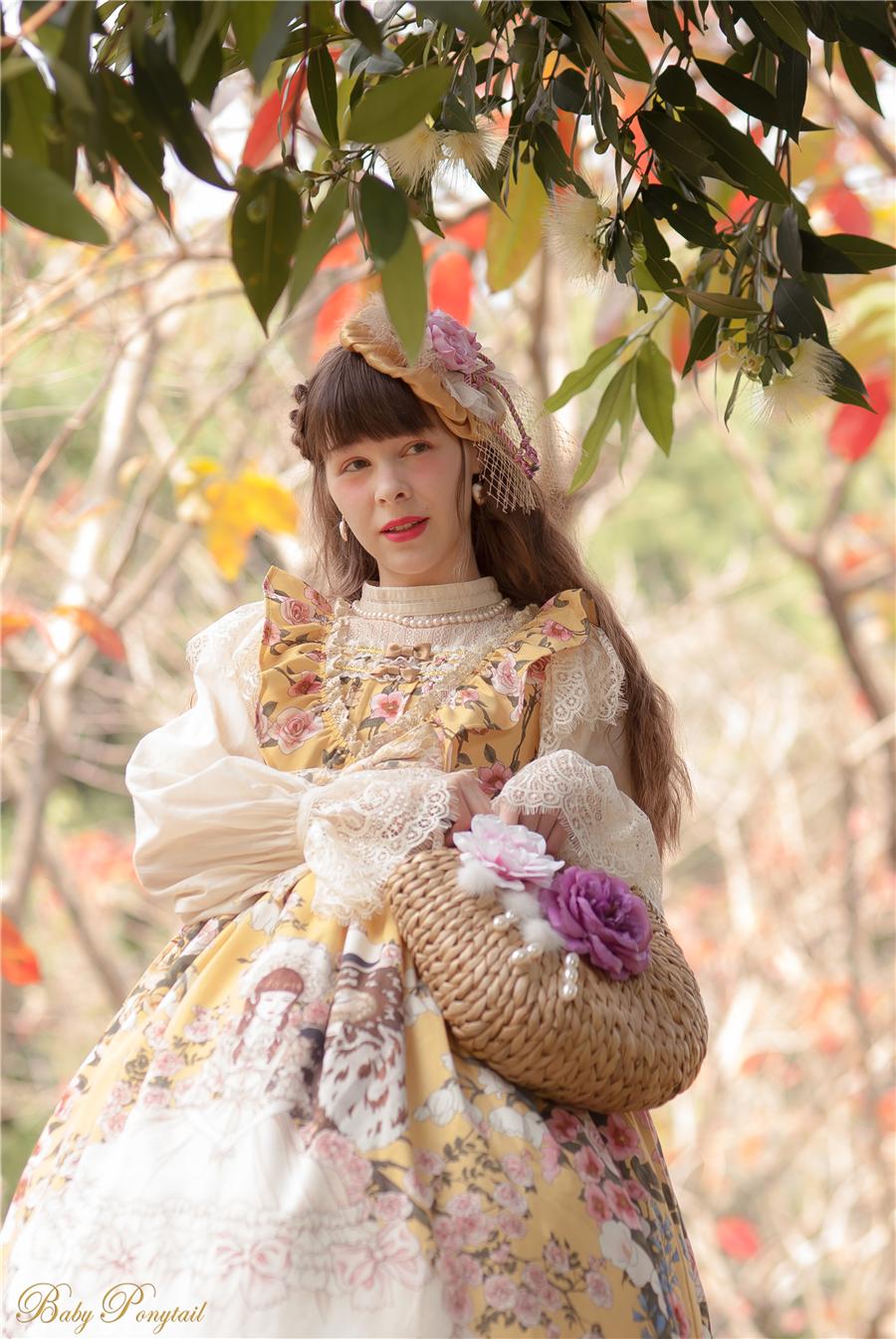 Baby Ponytail_Model Photo_Polly's Garden of Dreams_JSK Yellow_Claudia_2.jpg