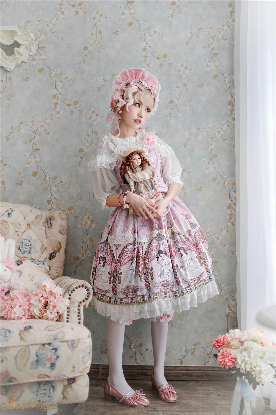 BabyPonytail_Model Photo_My Favorite Companion_JSK Pink_Kaka_01.jpg