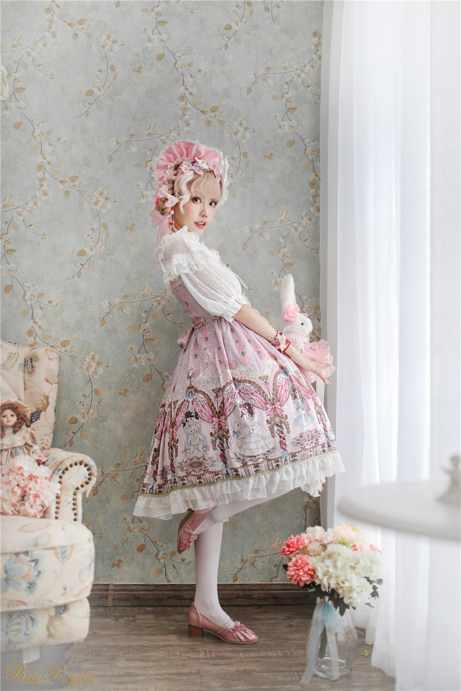 BabyPonytail_Model Photo_My Favorite Companion_JSK Pink_Kaka_03.jpg