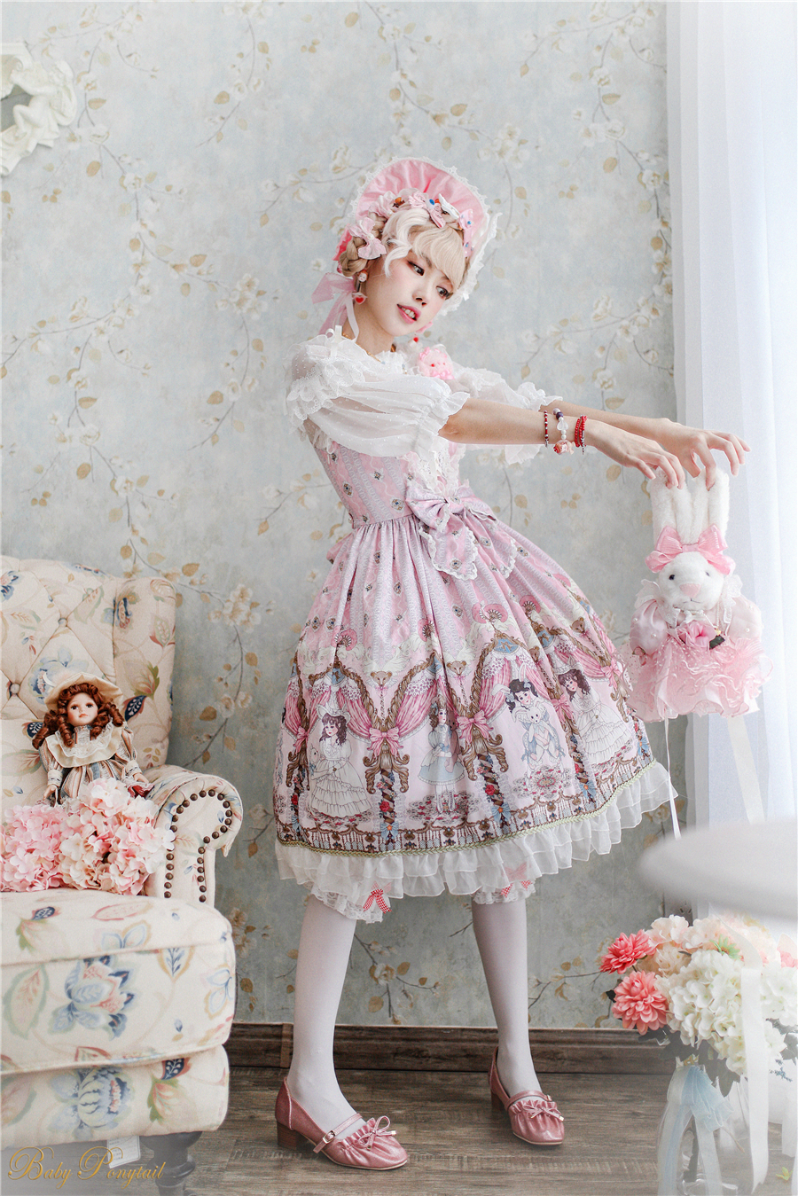 BabyPonytail_Model Photo_My Favorite Companion_JSK Pink_Kaka_04.jpg