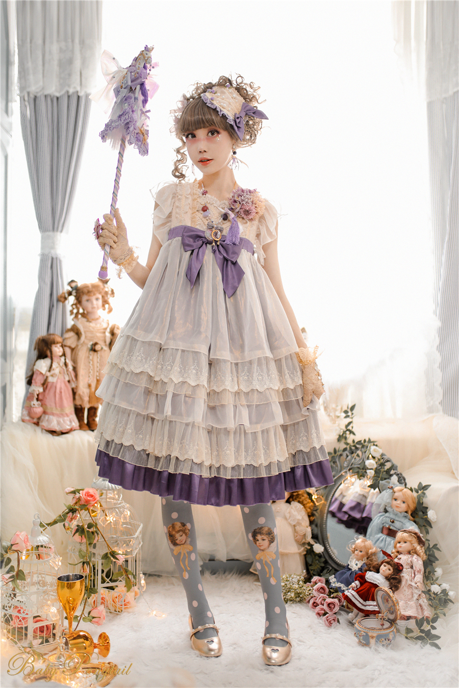 Babyponytail_Model Photo_Present Angel_JSK Violet_2_Kaka_01.jpg