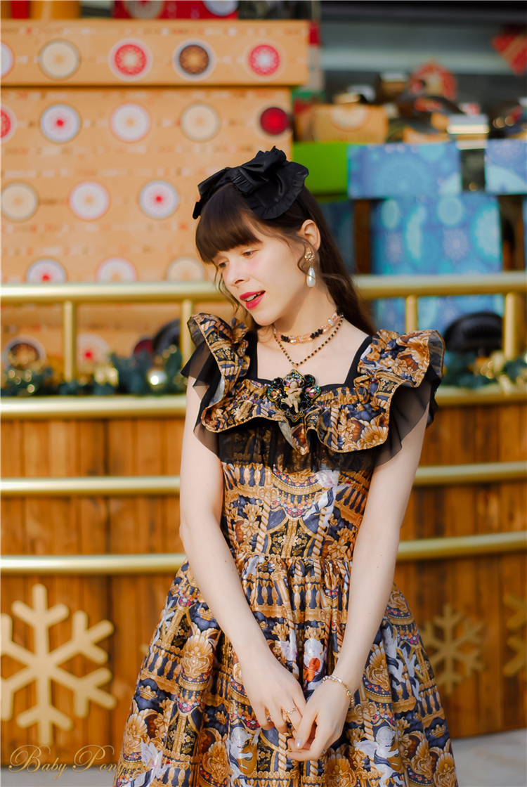 Babyponytail_Model_Ruffle Collar JSK_Black Present Angel_Kaka_002.jpg
