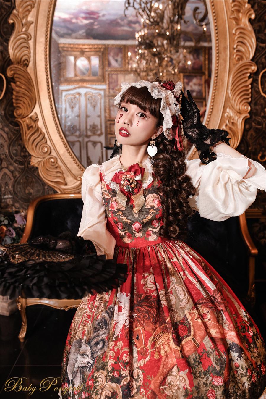 BabyPonytail_Rose Battle_Model Photo_JSK Red_Kaka_9.jpg