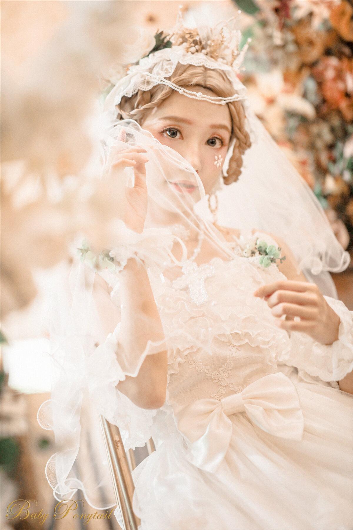 Babyponytail_Heavenly Teardrops_Model photo_JSK white_kaka_12.jpg