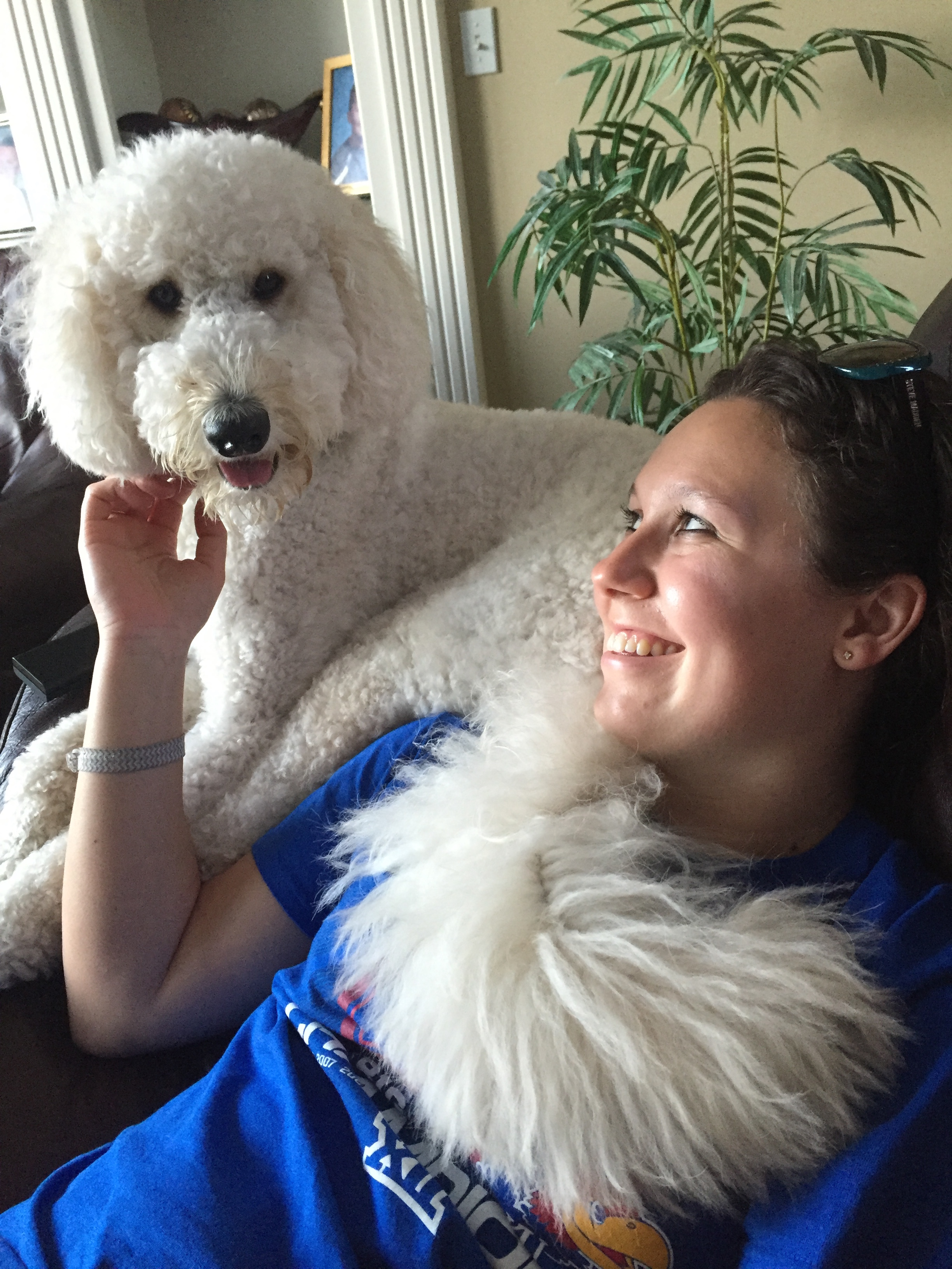 """""""I enjoy caring for pets because they are always so happy to see you, and I enjoy spending time with them to develop a bond.""""    -Nicole"""