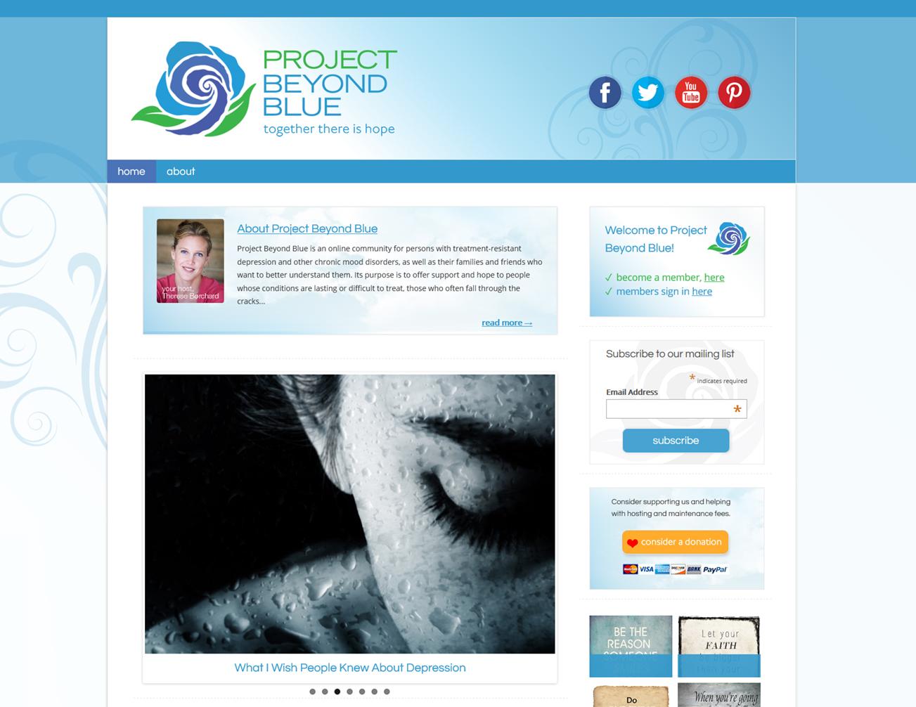 Project Beyond Blue - Ning 3.0 Design