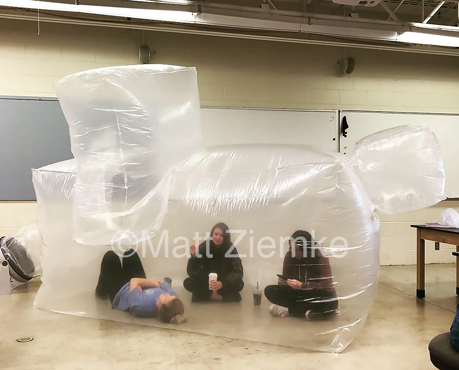 Assignment:  Inflatable Sculpture