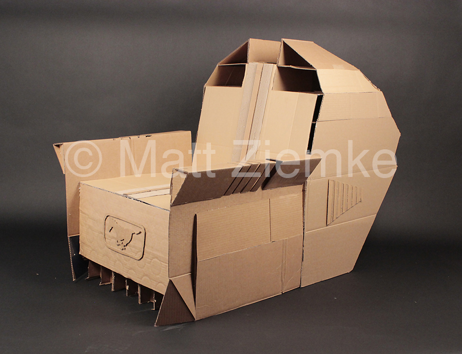 Assignment: Functional Cardboard Chair