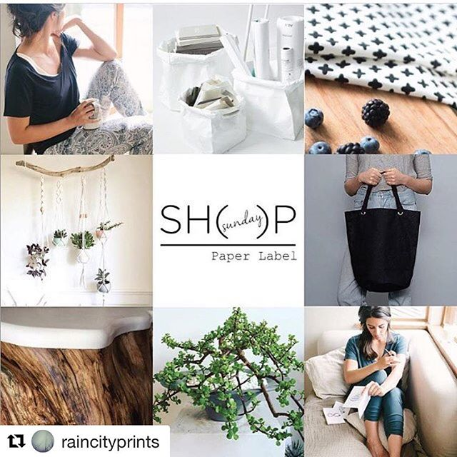 If you hate Monday's, then you should pretend it's Sunday!! . . #Repost @raincityprints with @repostapp ・・・ Ahhhhh, what a gorgeous, late-Summer Sunday. If you're local, consider a day trip to Deep Cove to visit the Sunday Shop pop up at Artemis Gallery on Gallant Avenue. Raincity Prints art and greeting cards will be there for a very limited time, amidst incredible company: you'll find @paperlabelsleep loungewear along with @too_fifteen @kermodi @woodstoryandco @carrallstcanvascompany @lintandhoney @wildhillbotanicals @saigeandskye @white_brix @lostboyslife and of course @raincityprints. The theme? You guessed it: Relaxing Sundays. ☁️ #sundayshop #popup #shoplocal #buylocal #deepcove #northshore #vancity #vancitybuzz #sundaymorning #sunday