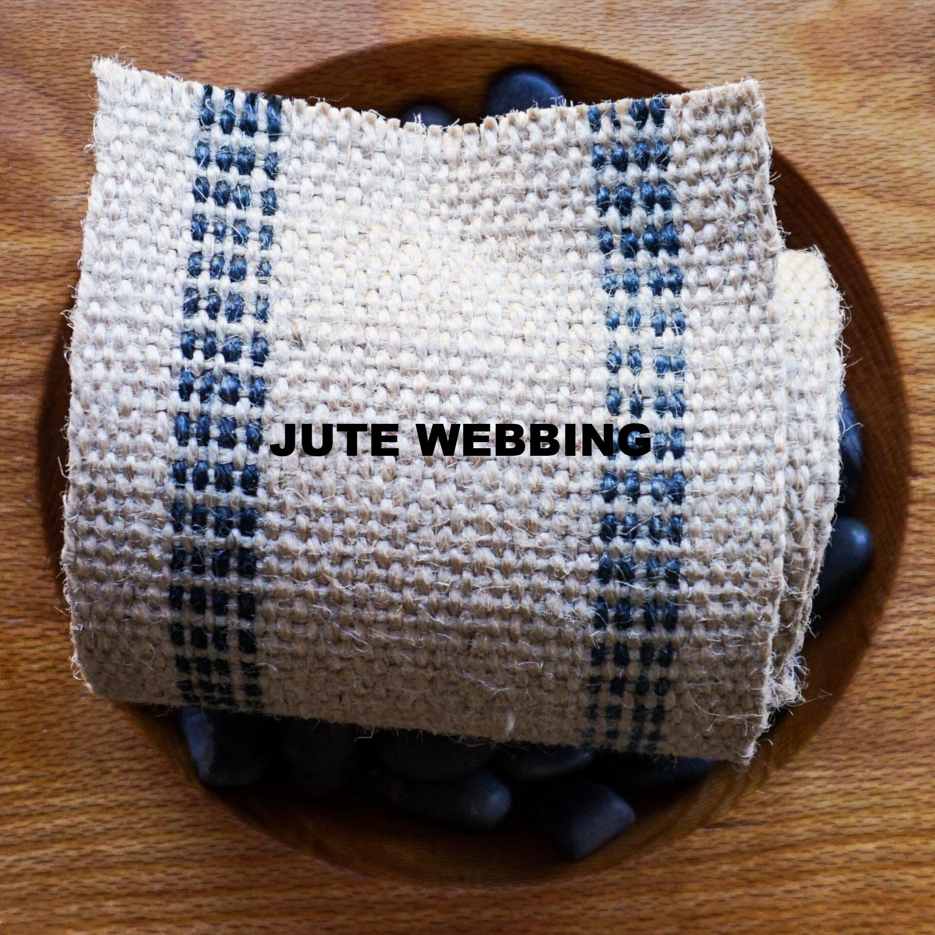 JUTE WEBBING