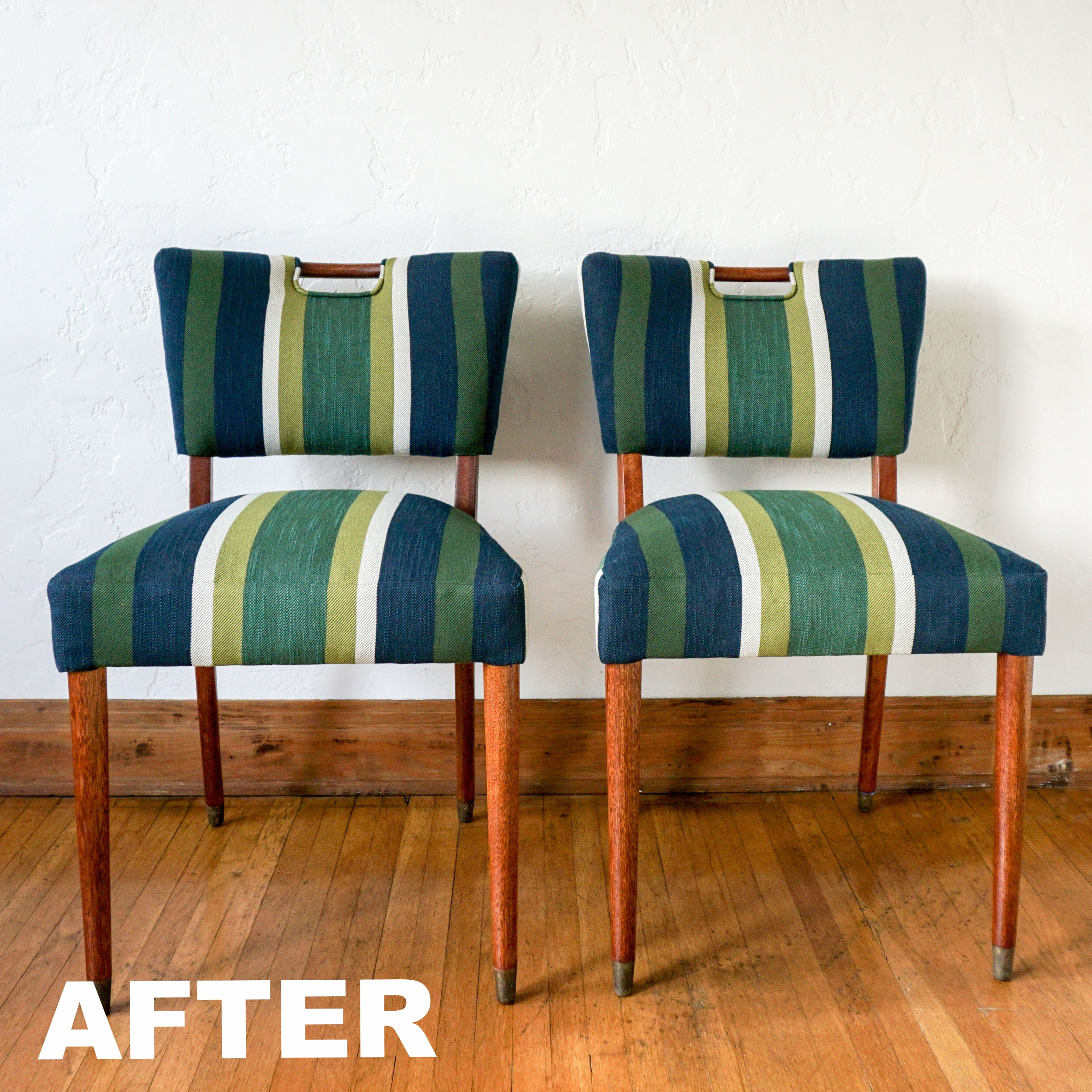 Pair of Kitchen Handle Chairs, A Circle Home