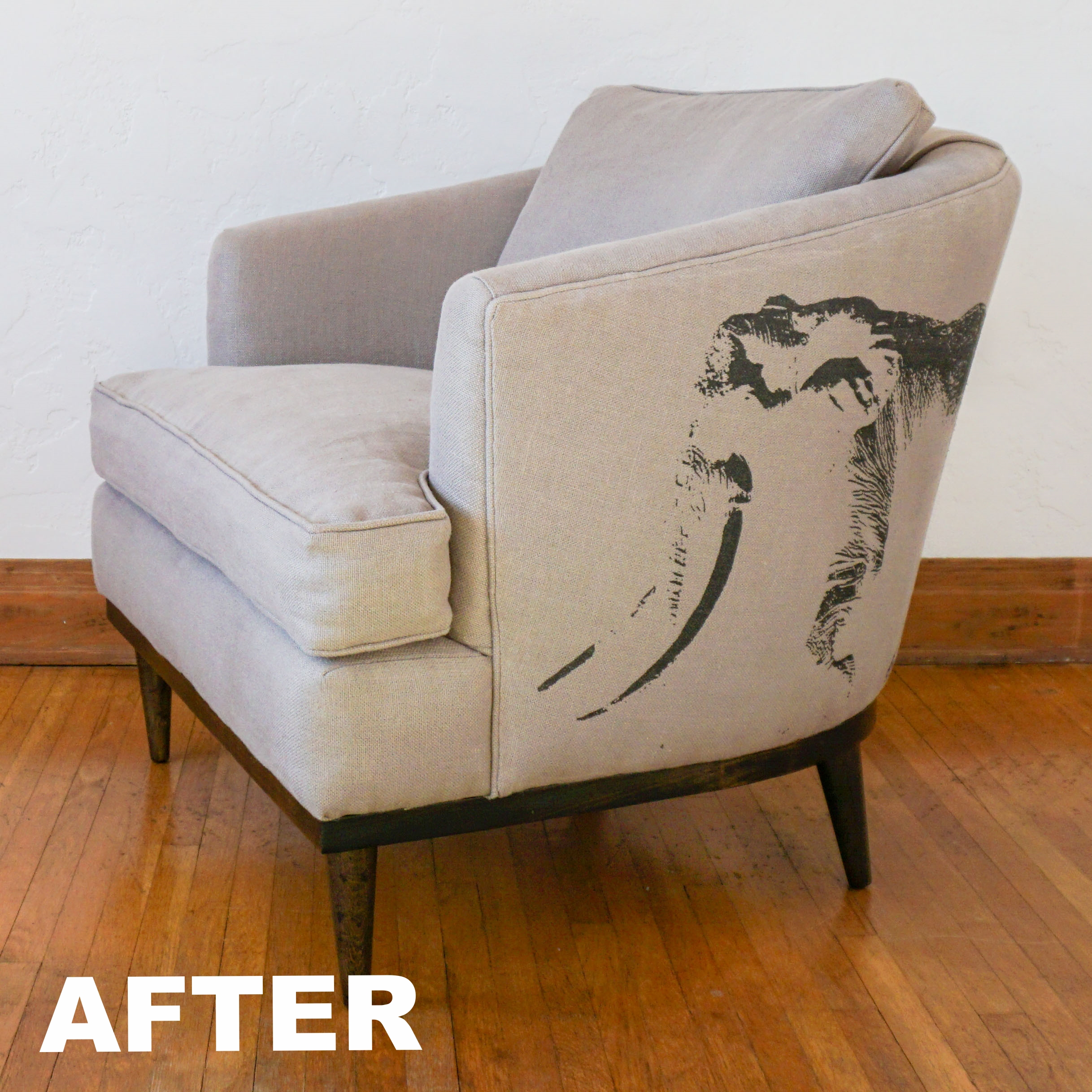 The Ghost of Satao Reading Chair, A Circle Home