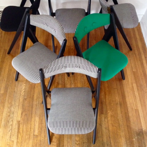 Plopping is now a pleasant reality with my dining chairs.