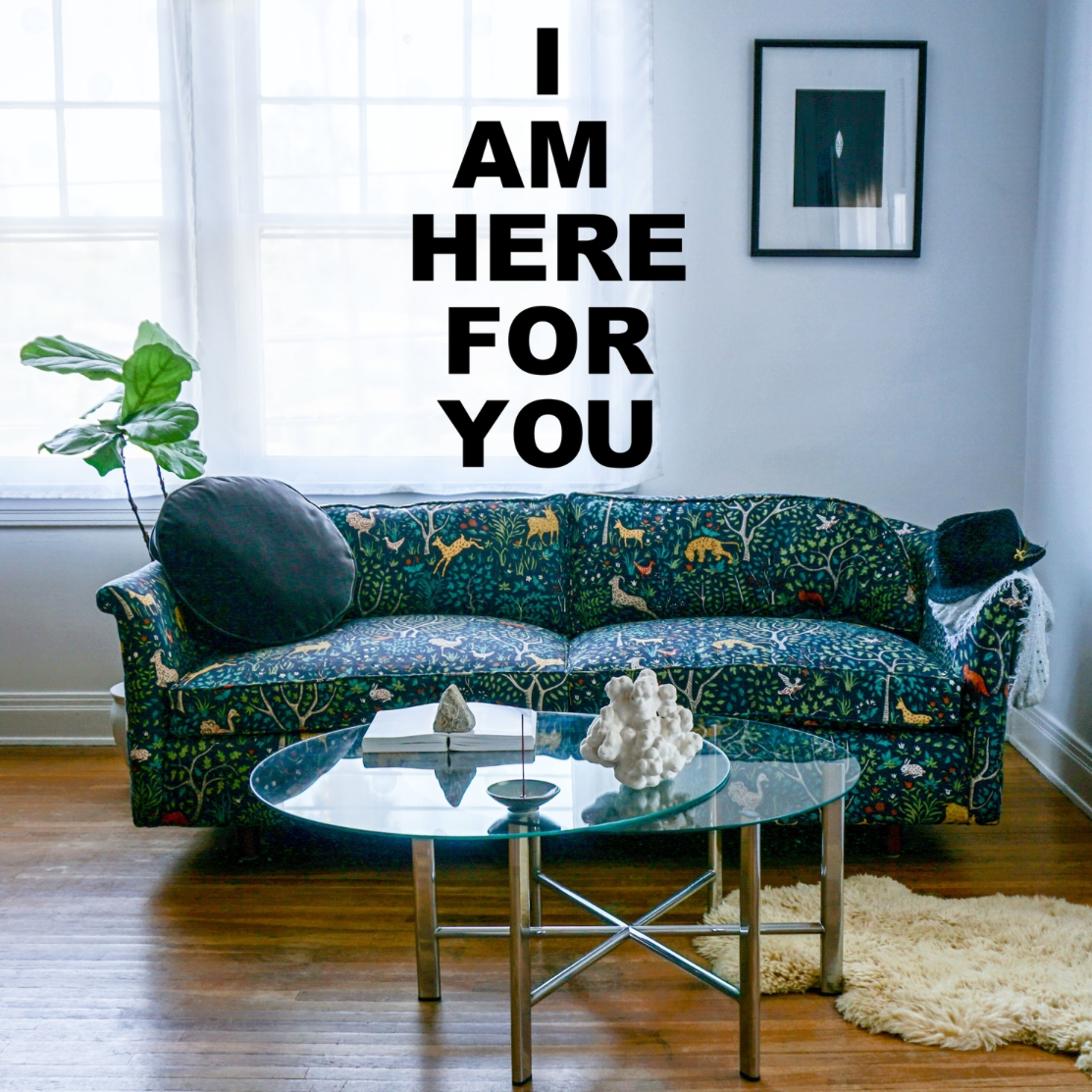 Click the couch to get in touch with me!