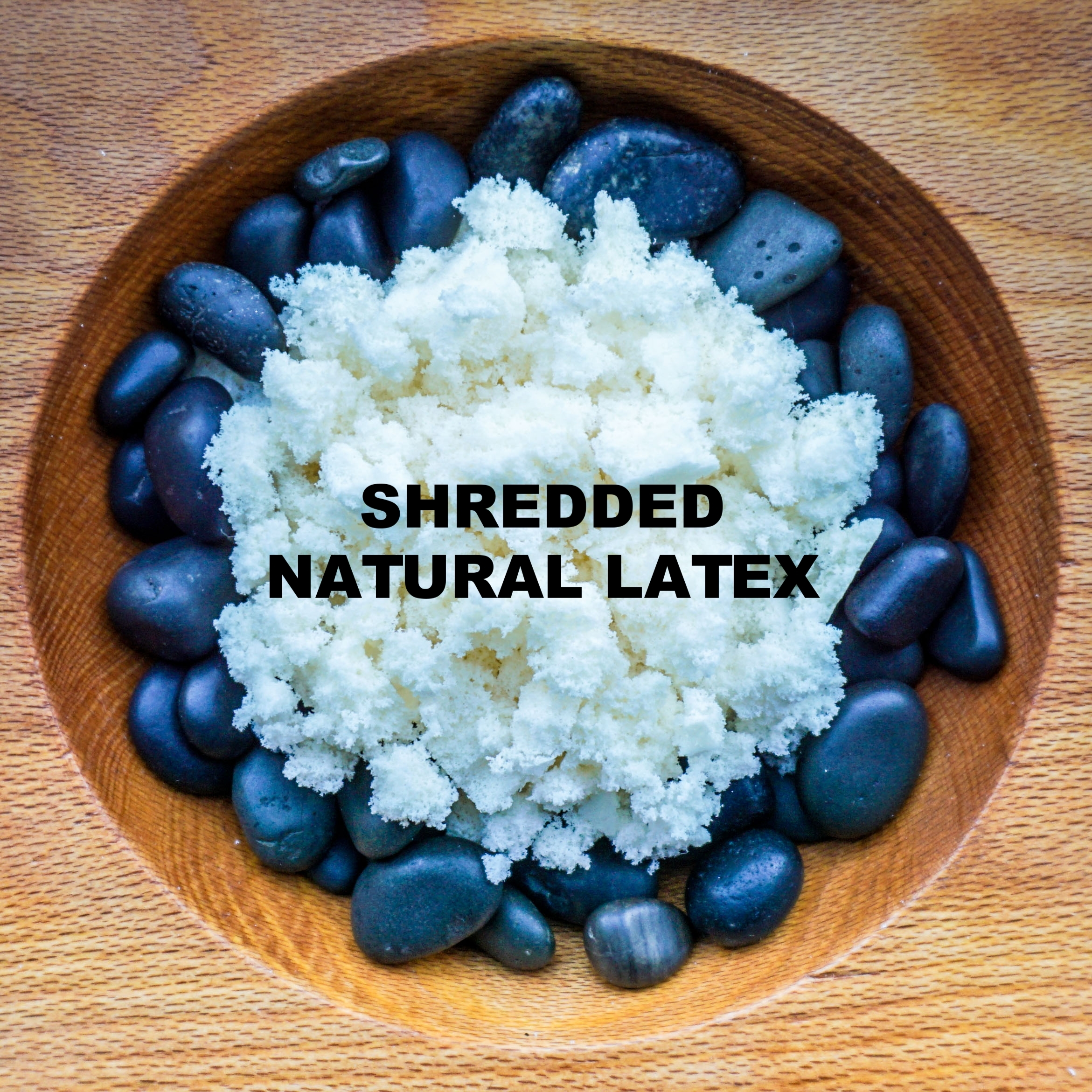 SHREDDED NATURAL LATEX