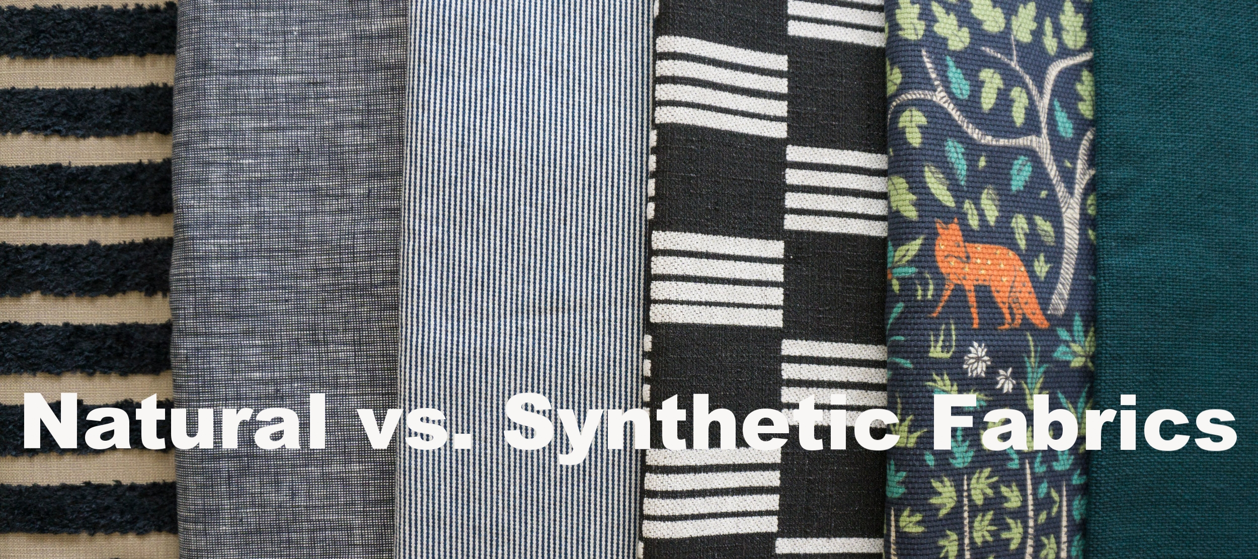 CLICK THROUGH BLOG: Figure out what type of fabric you need and how it impacts the environment.
