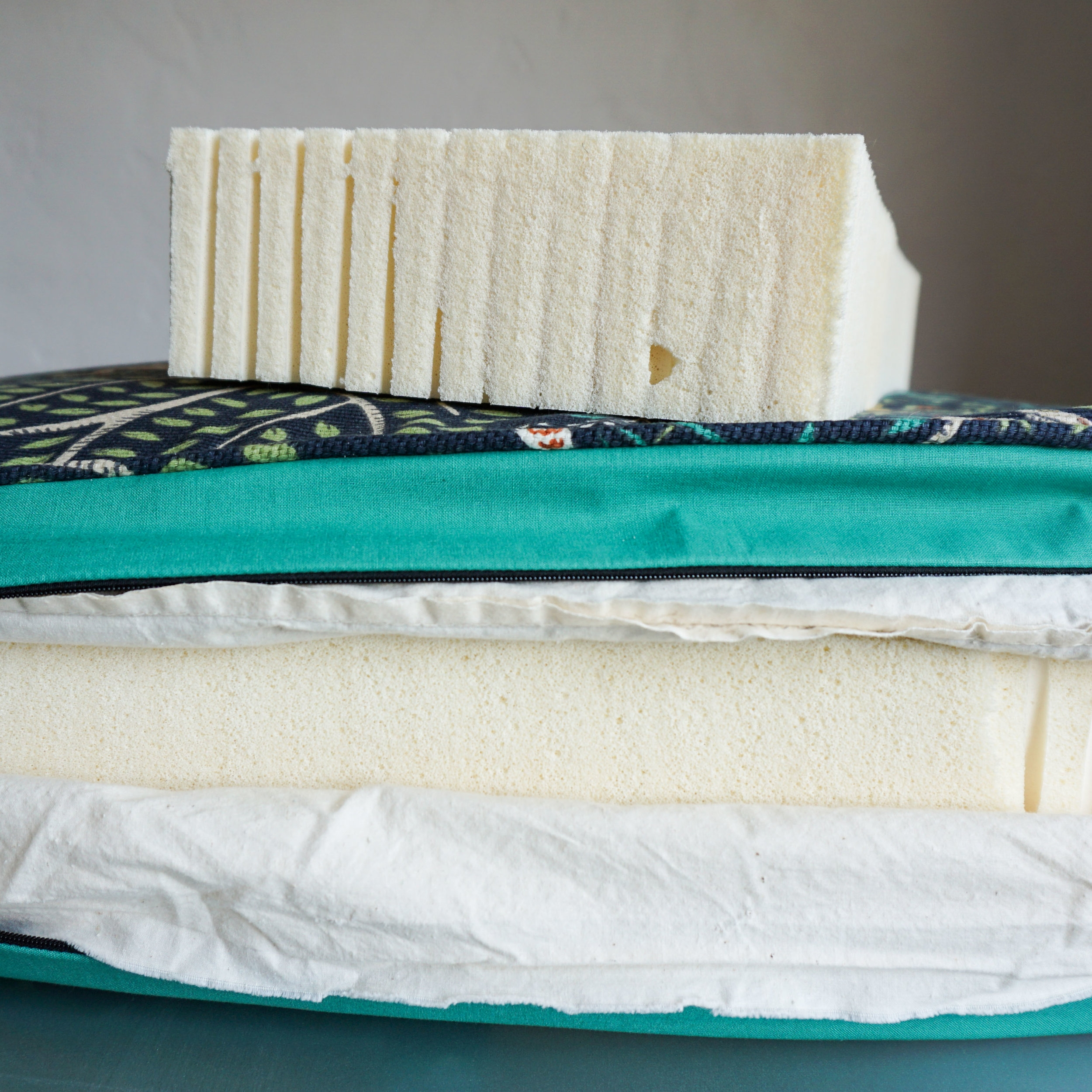 Natural Rubber Latex Foam vs. Conventional Foam - The real difference beyond the cushion.