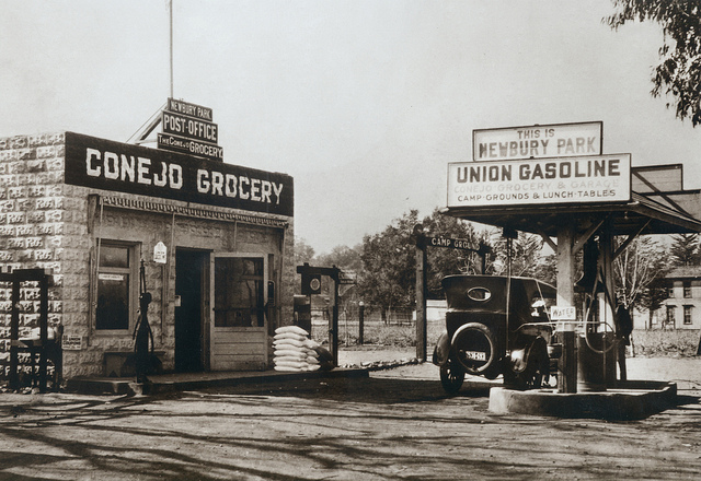 Thousand Oaks, CA — During the 1920s, local residents could chat, pick up library books, gas up their cars, and buy groceries at the Newbury Park Post Office and Conejo Grocery.