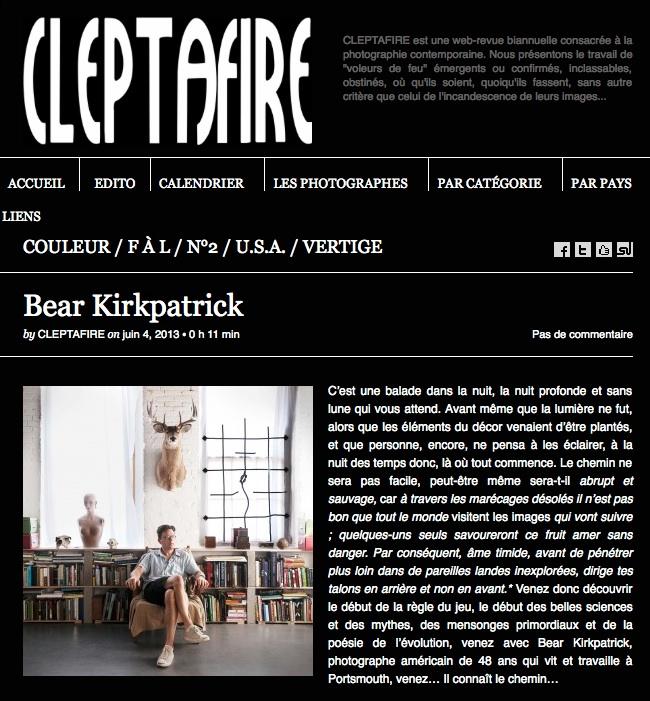 Cleptafire, Paris, France. June 4, 2013