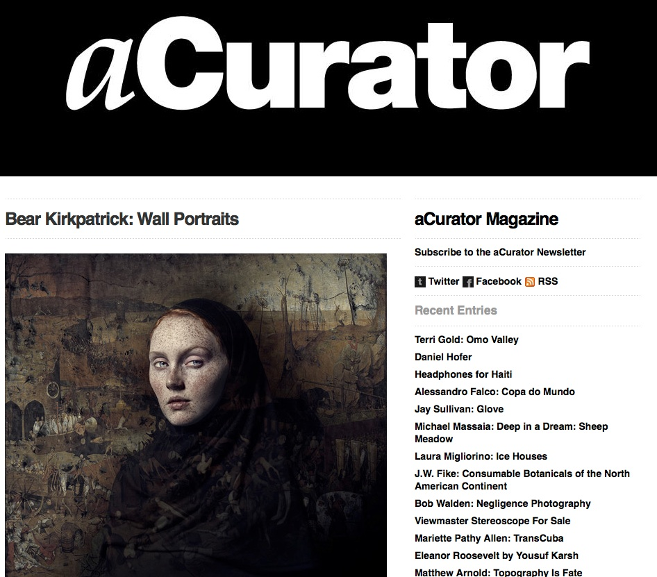 aCurator Magazine, 2014