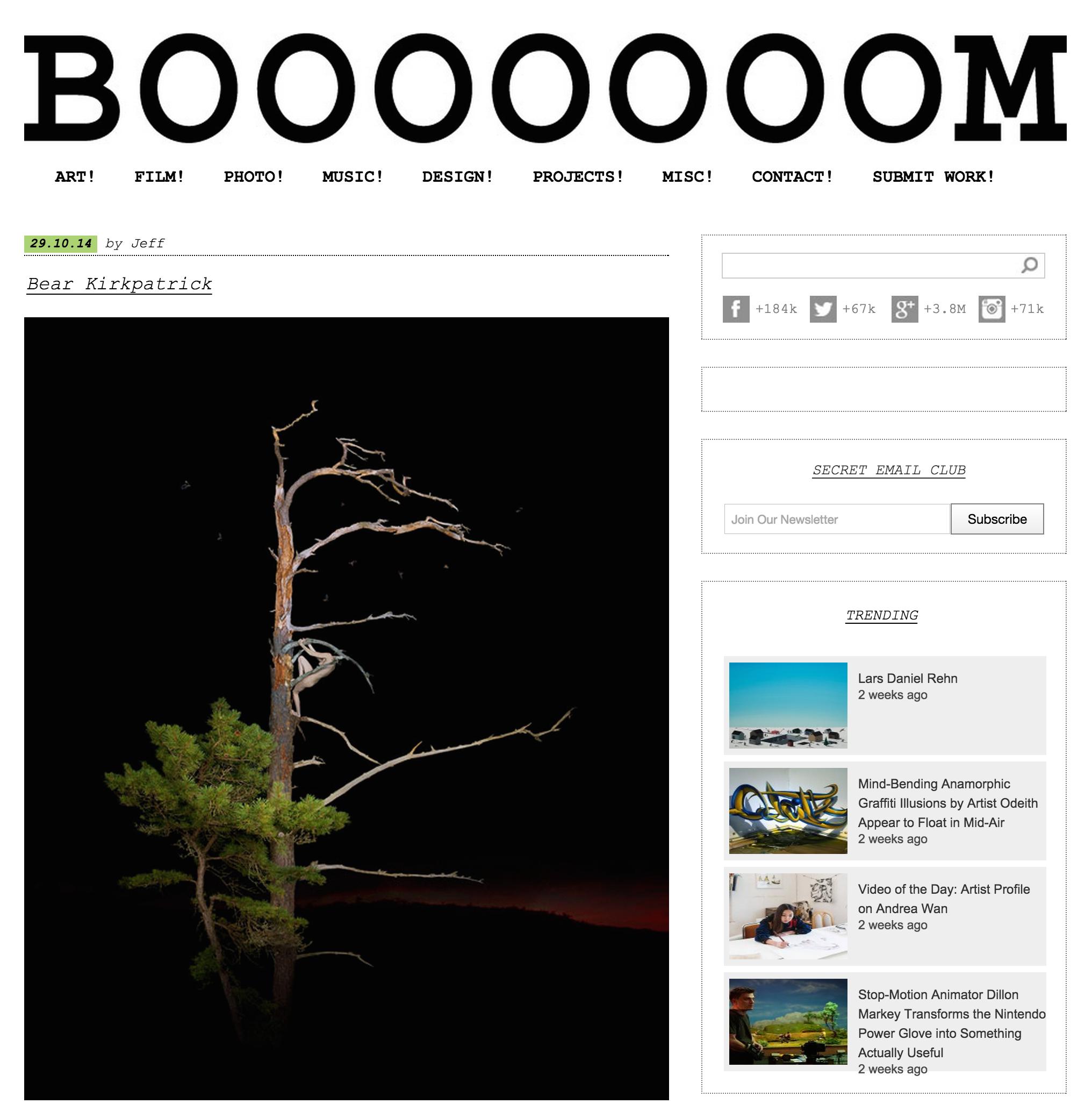 Booooooom, Oct. 2014