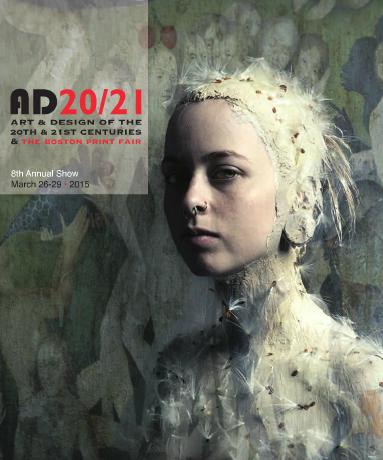 AD 20/21 Boston Print Fair Catalogue Cover, March 2015