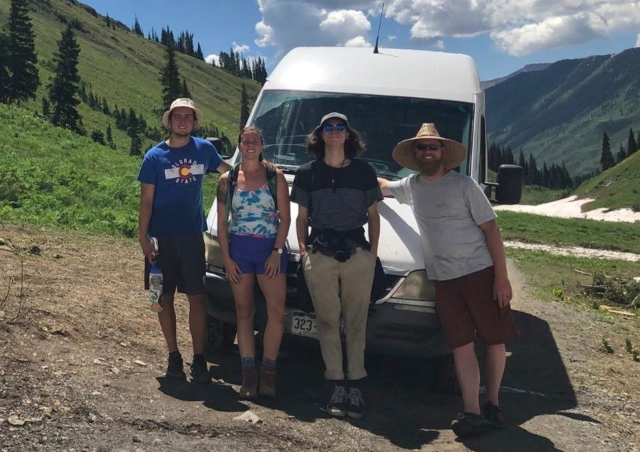 Crested Butte Camping Canvas 2019