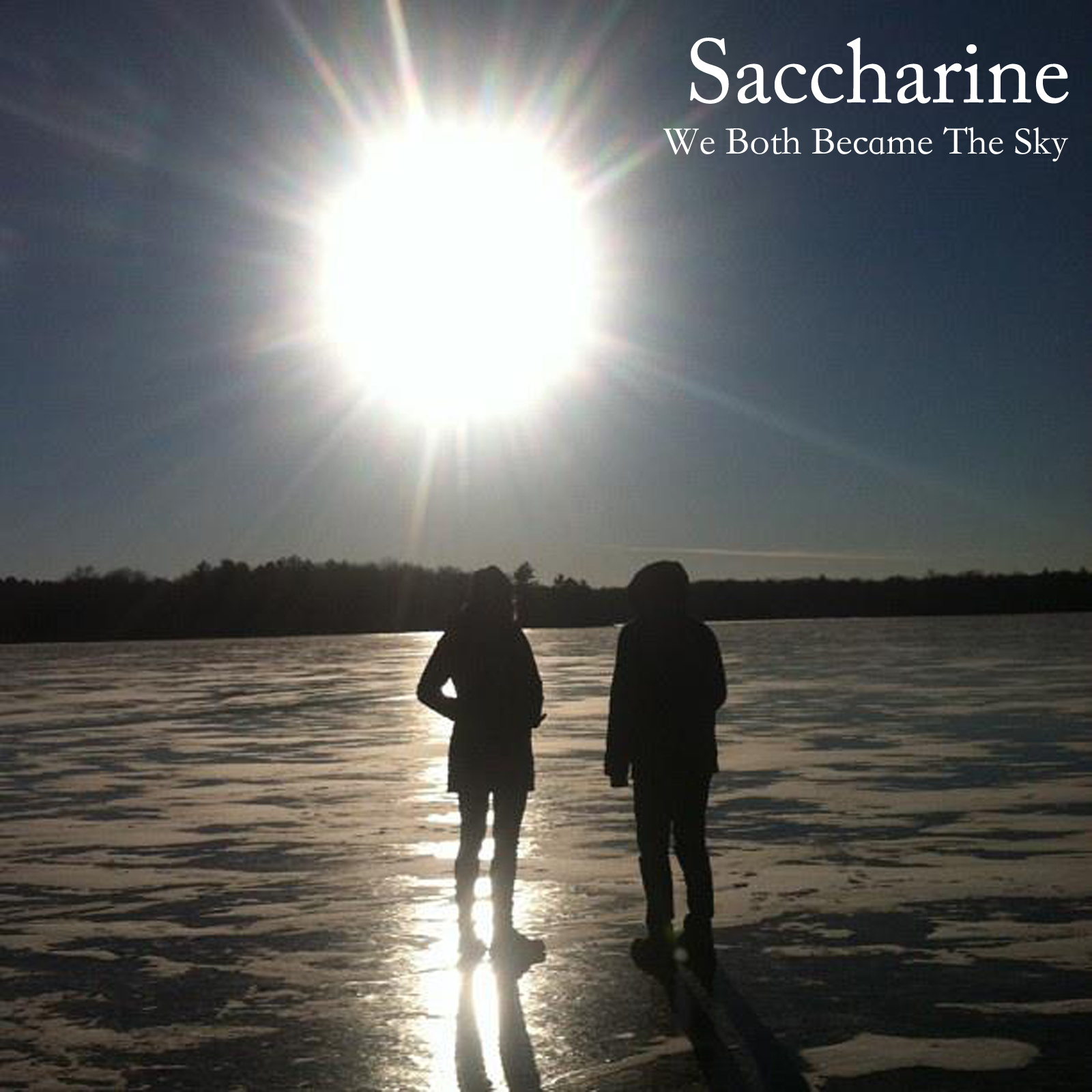 Saccharine   We Both Became The Sky