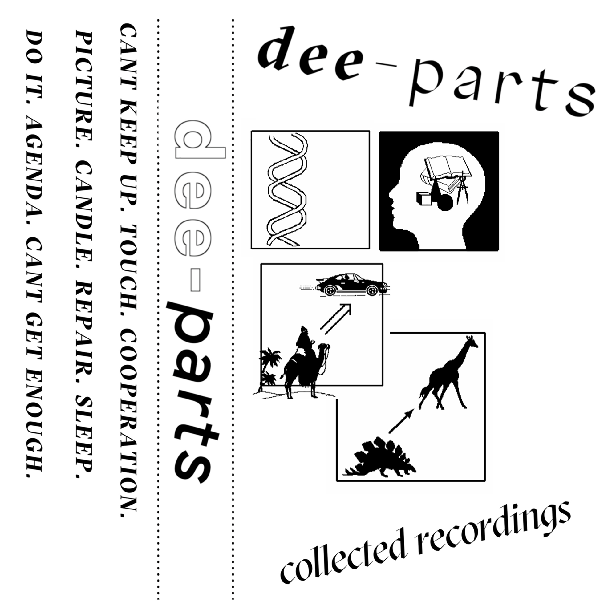 Dee-Parts   Collected Recordings