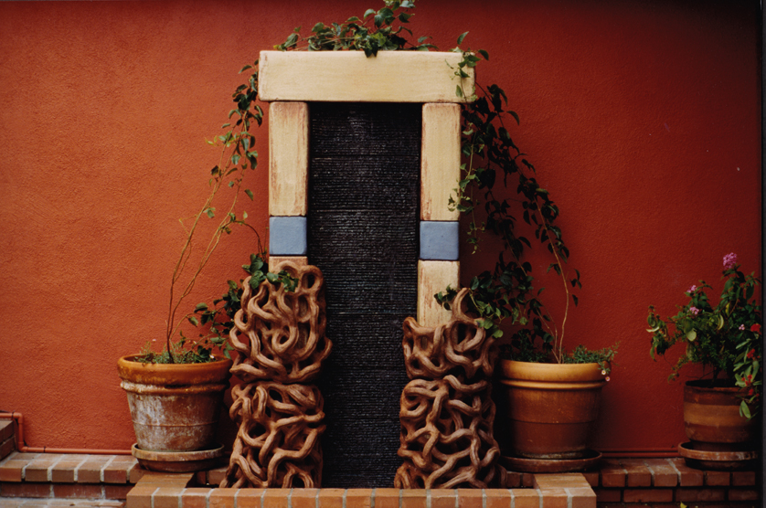 Portal (fountain), 1995, Private Residence, Los Angeles CA.