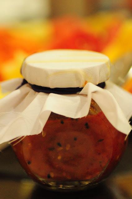 Nikhil's Mountain Tomato Jam- beautifully packaged!