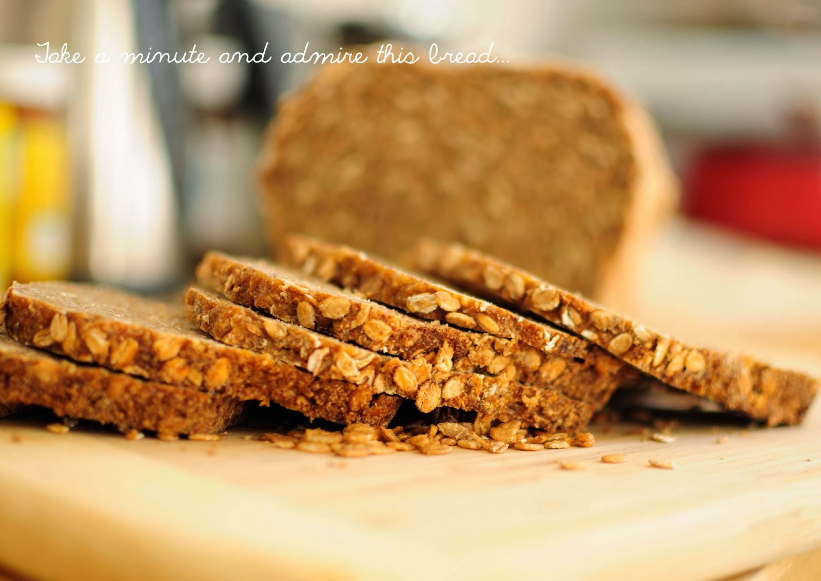 A nutty grainy delicious rye sour bread