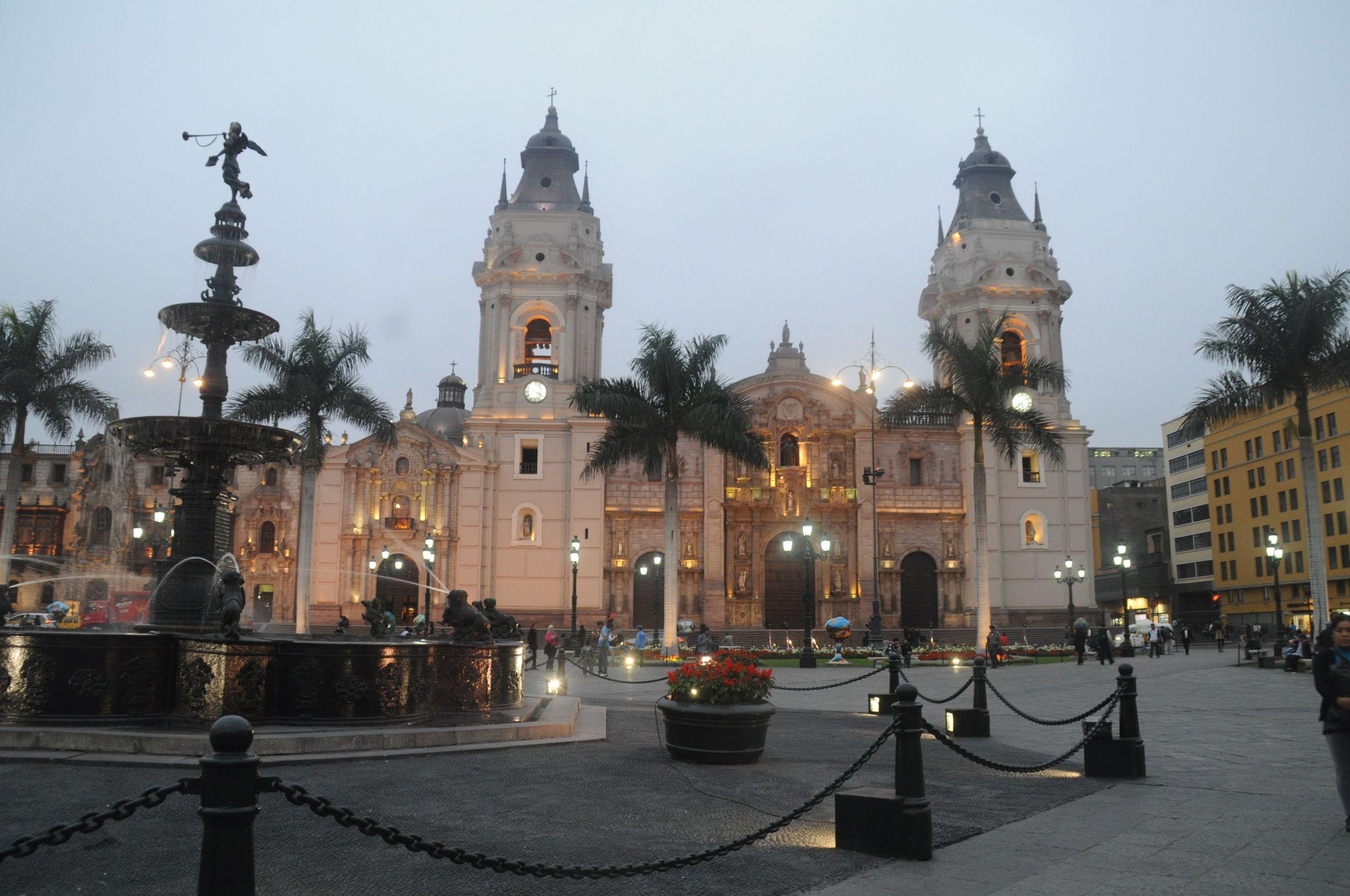 Plaza de Armas- Lima