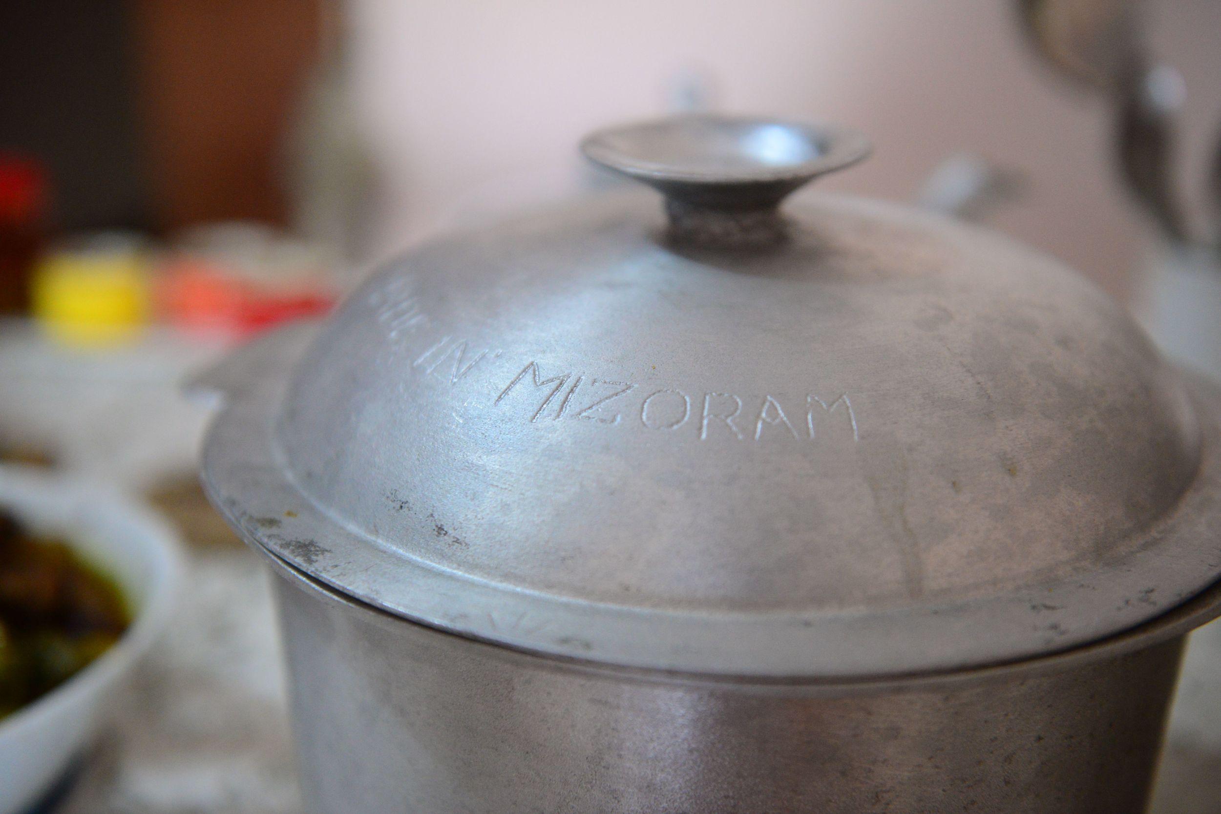 Pot from Mizoram