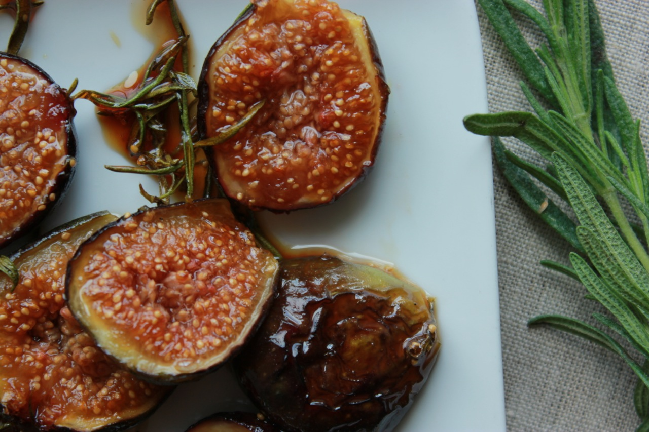 My caramelized honey-rosemary figs. Skip to  method #2 in this recipe