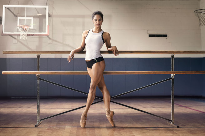 She is just stunning. And a bada**, let's be real. Image from her Under Armour Campaign.