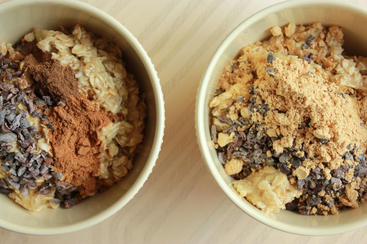Pumpkin Cacao and PB Cacao.