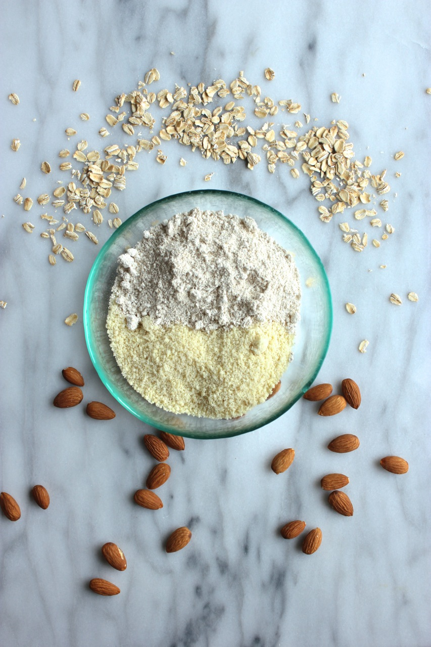 Almond Meal and Oat Flour