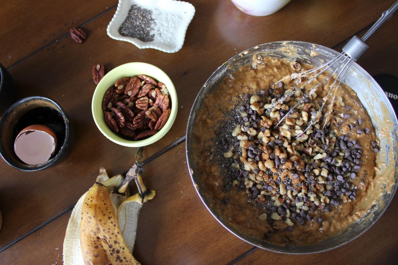 PB Banana Nut Chia Bread | Living Minnaly08.jpg