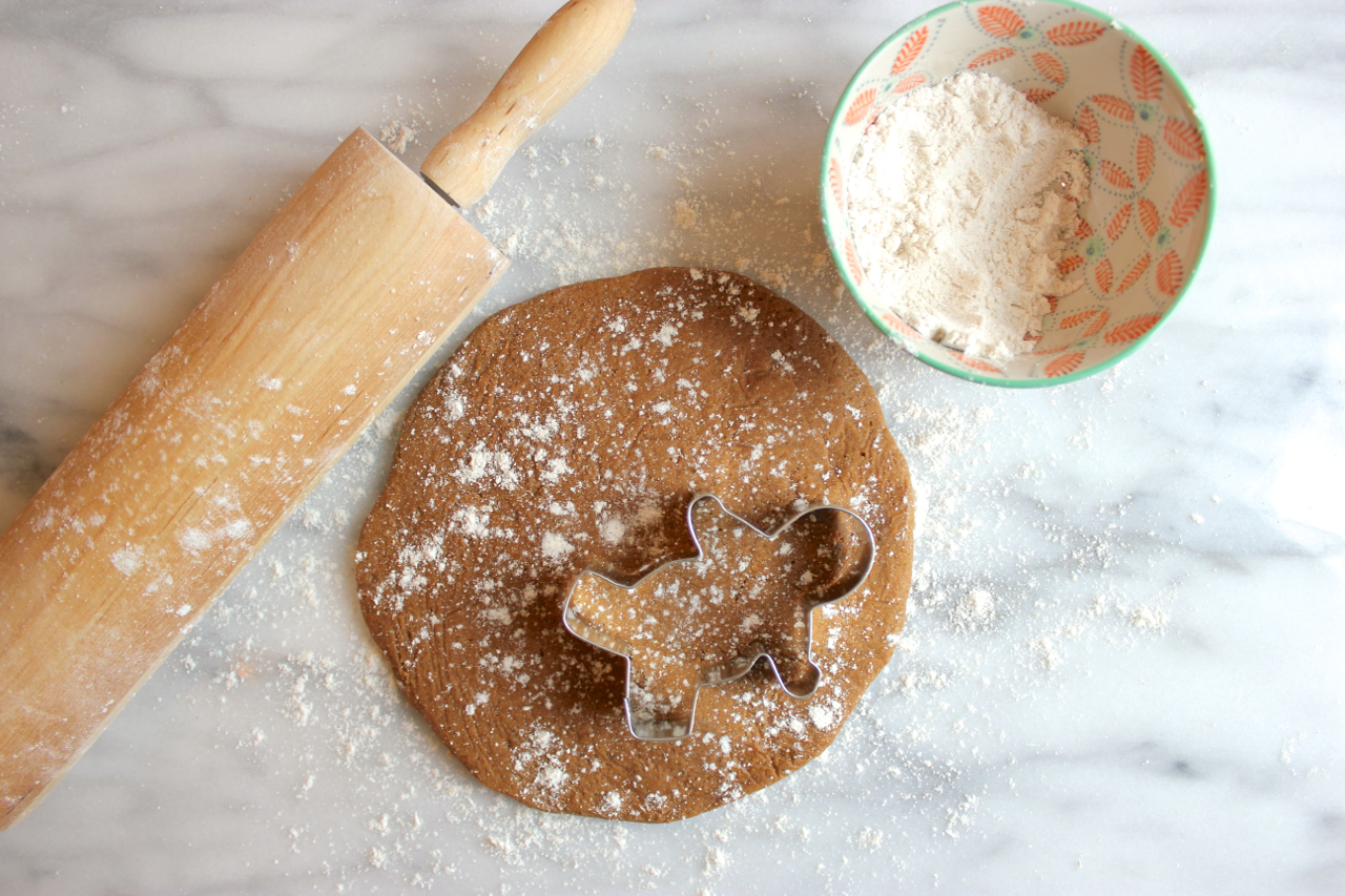 Gluten-Free Gingerbread Men Cookies | Living Minnaly06.jpg