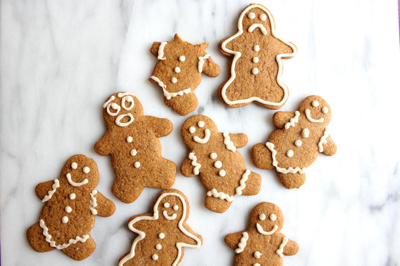 Gluten-Free Gingerbread Men | Living Minnaly