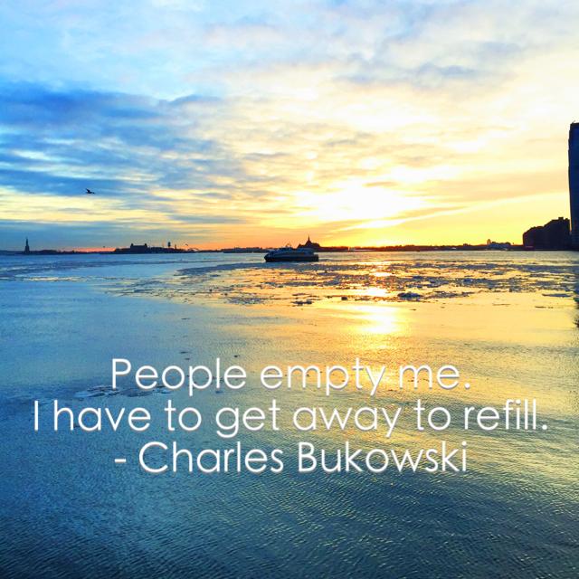 Charles Bukowski | Living Minnaly
