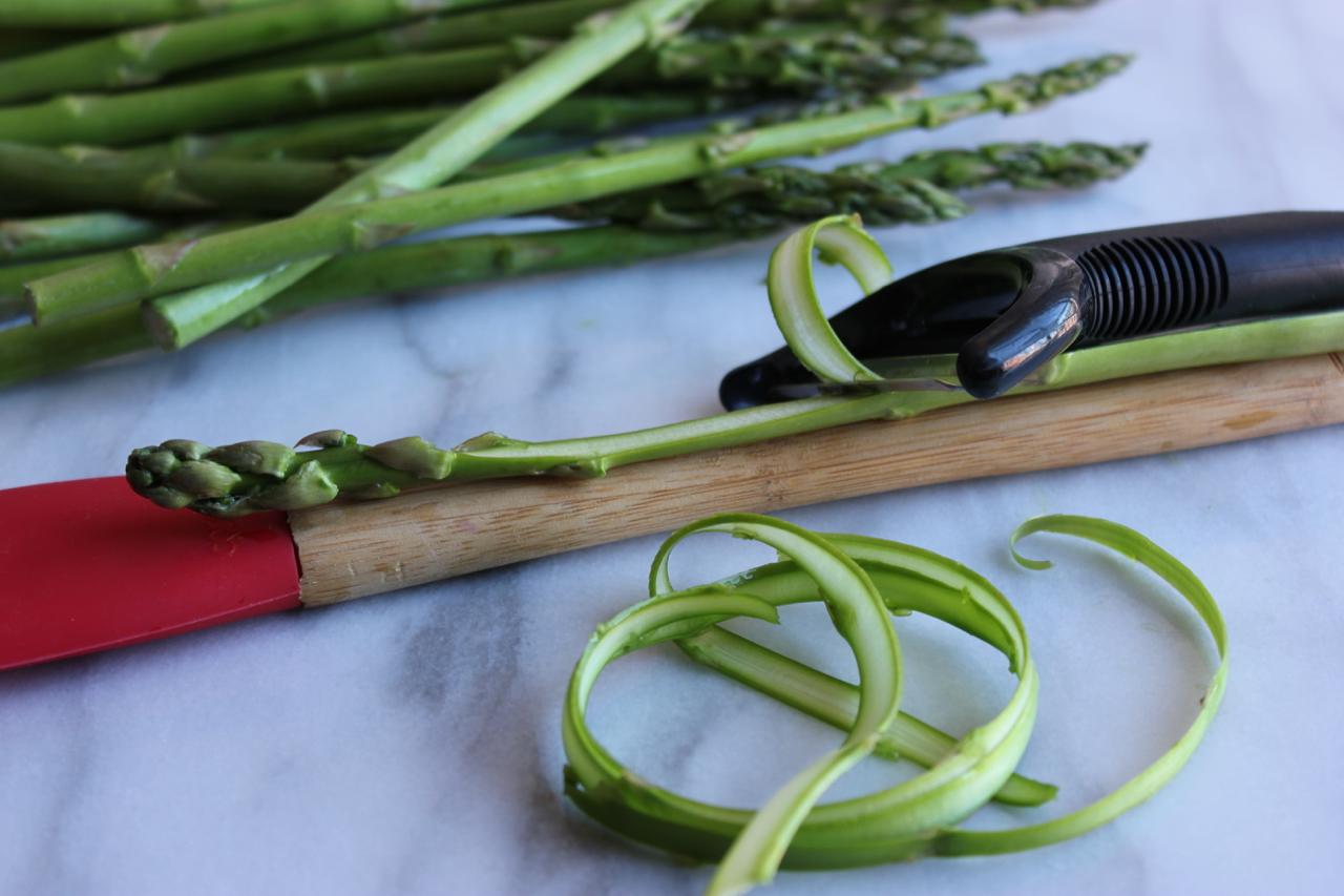 Shaved Asparagus Ribbon Salad w:Lemon Parmesan Vinaigrette | Living Minnaly02.jpg